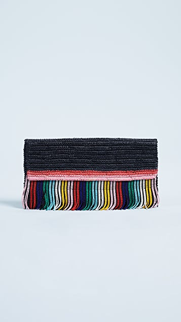 Sensi Studio Beaded Clutch