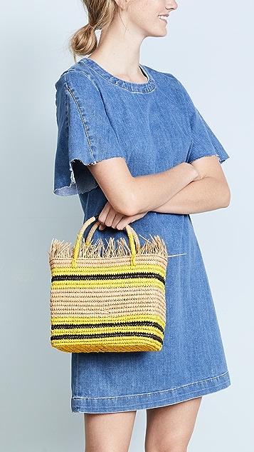 Sensi Studio Canasta Mejicana Baby Handbag