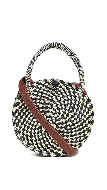 Sensi Studio Round Handbag with Strap