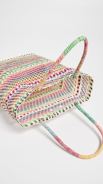 Sensi Studio Multicolor Basket Bag