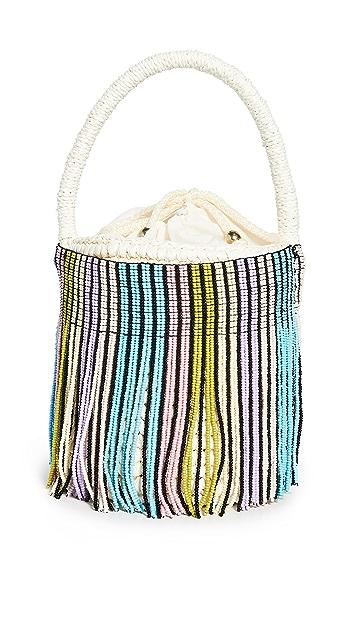 Sensi Studio Mini Beaded Bucket