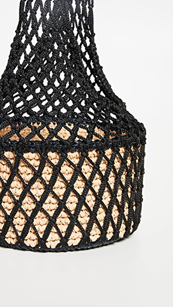 Sensi Studio Netted Crossbody Bag