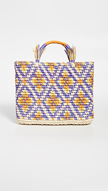 Sensi Studio Canasta Mosaico Tote Bag