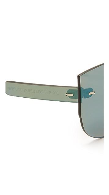 Super Sunglasses Солнцезащитные очки Tuttolente Lucia Petrol