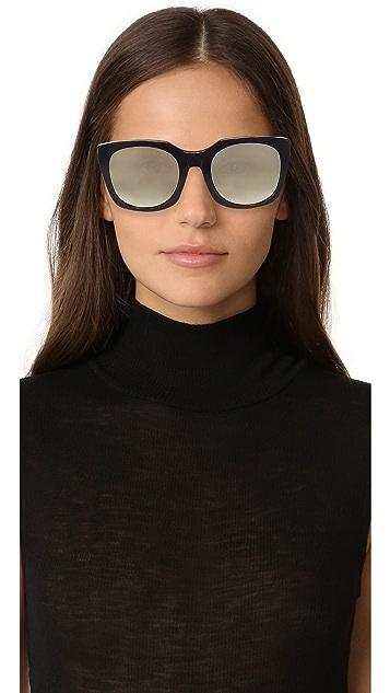 Super Sunglasses Quadra Sunglasses