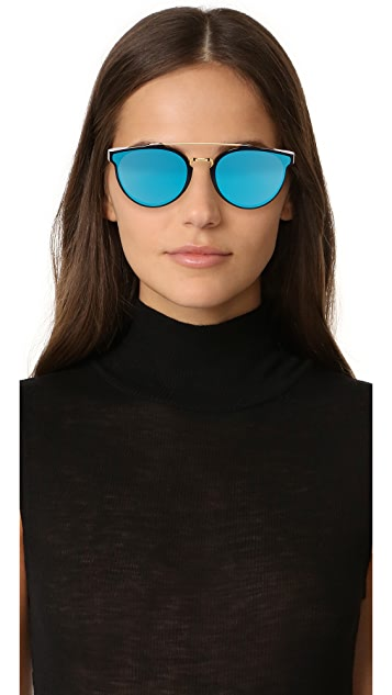 Super Sunglasses Giaguaro Forma Sunglasses