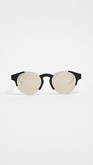 Super Sunglasses Arca Sunglasses - Black/Ivory