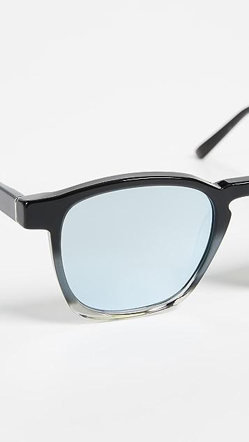 Super Sunglasses Unico Monochrome Fade Sunglasses