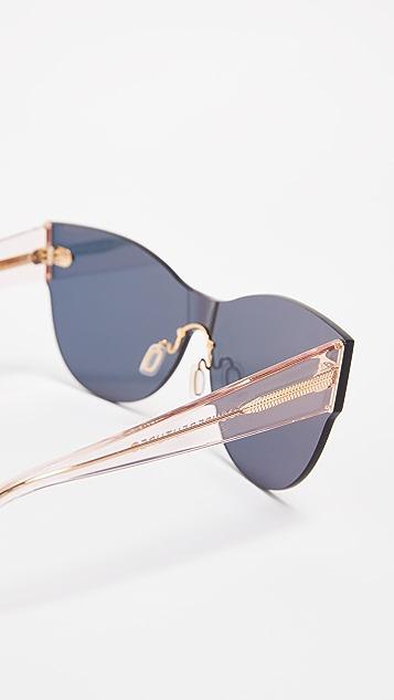 Super Sunglasses Kim Mirrored Sunglasses
