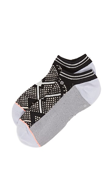 STANCE Invisible Boot Lite Bit Map Socks