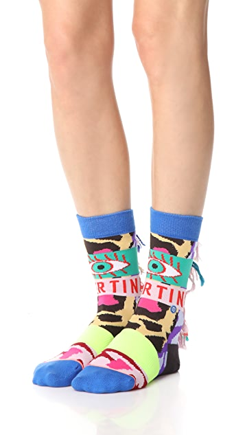 STANCE x Libertine Magic Eye Socks