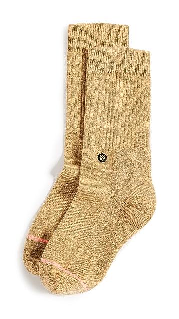 STANCE Sparkle Classic Crew Socks