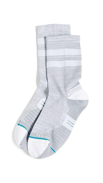 STANCE Run Uncommon Solids Compression Crew Socks