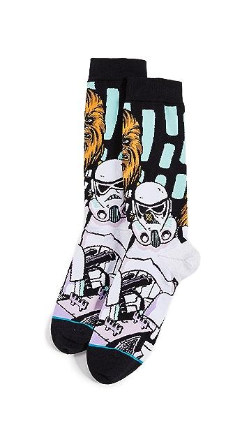 STANCE Warped Chewbacca Socks