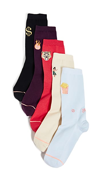 STANCE Days of the Week Socks 5 Pack