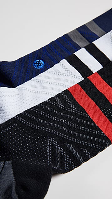 STANCE 3 Pack Train Crew Socks