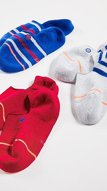 STANCE Набор из трех пар носков True Color
