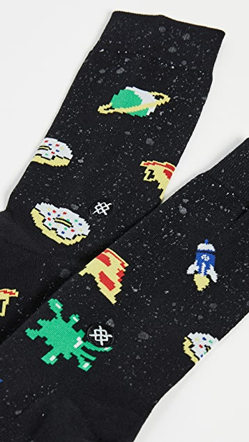 STANCE Space Food Socks