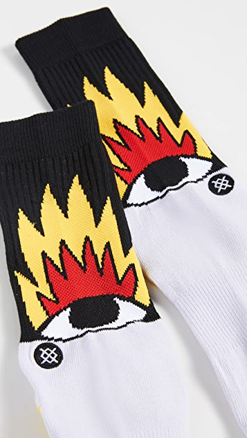 STANCE Fire and Eyes Socks