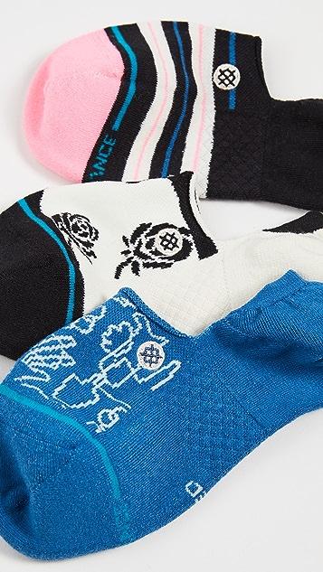 STANCE Reign 格纹袜子 3 双装