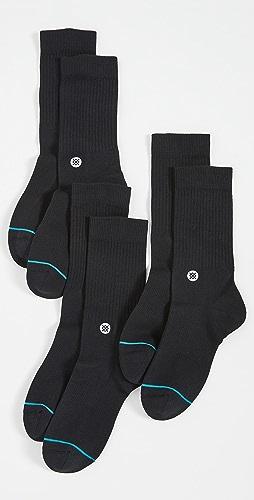 STANCE - Icon 3 Pack Crew Socks