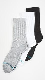 STANCE Icon 3 Pack Crew Socks