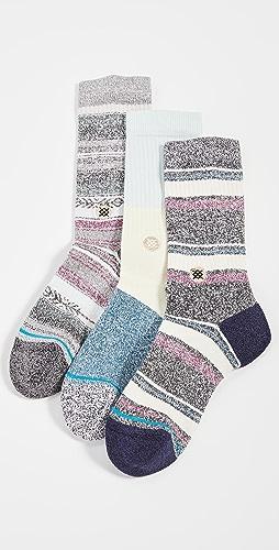 STANCE - Bu Bu Butterblend Socks 3 Pack