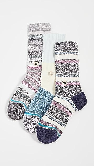 STANCE Bu Bu Butterblend Socks 3 Pack