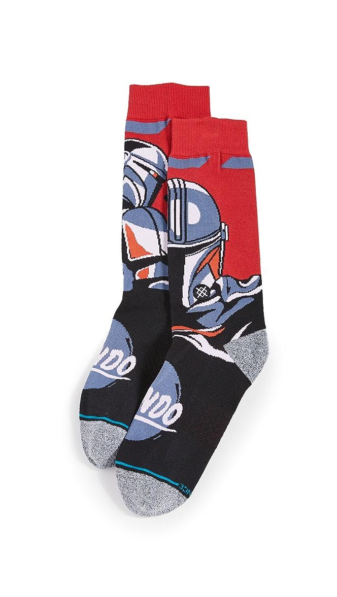 "Stance /"" Beskar Steel /"" Crew Socks  Star Wars Sock"