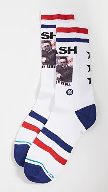 STANCE Cash American Rebel Crew Socks