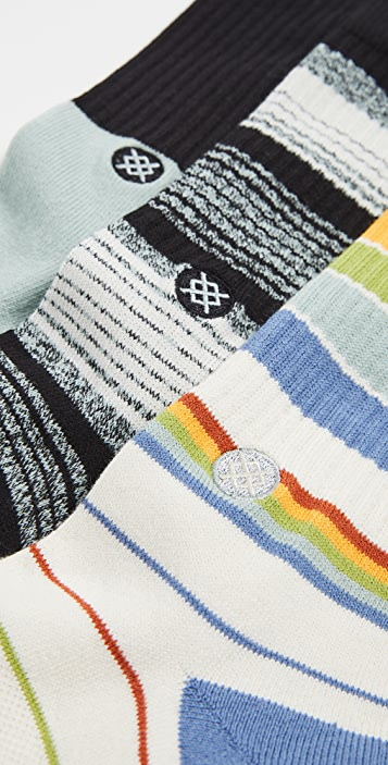 STANCE Badwater 3 Pack Crew Socks