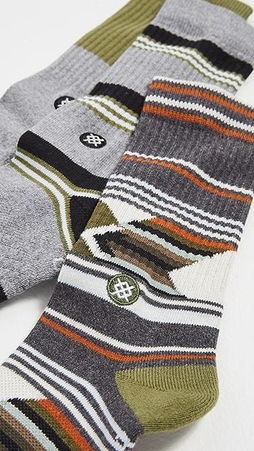 STANCE Grand 3 Pack Crew Socks