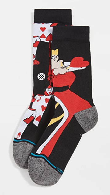 STANCE x Alice In Wonderland Off With Their Heads Crew Socks