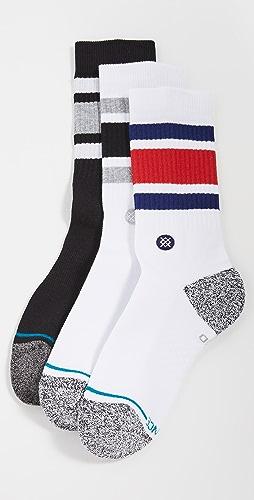 STANCE - The Boyd 3 Pack Crew Socks