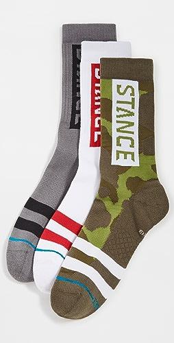 STANCE - The OG 3 Pack Crew Socks