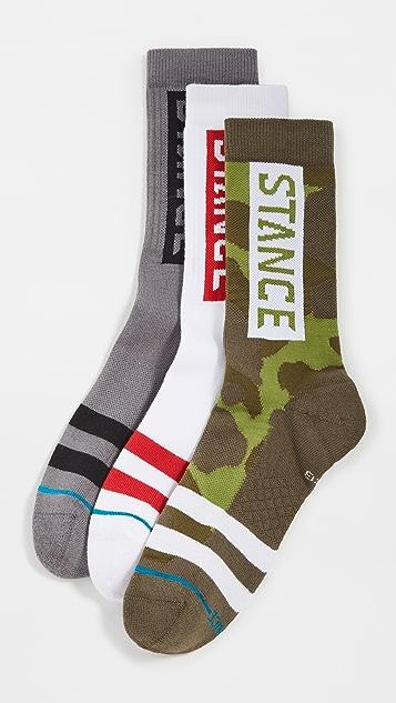 STANCE The OG 3 Pack Crew Socks