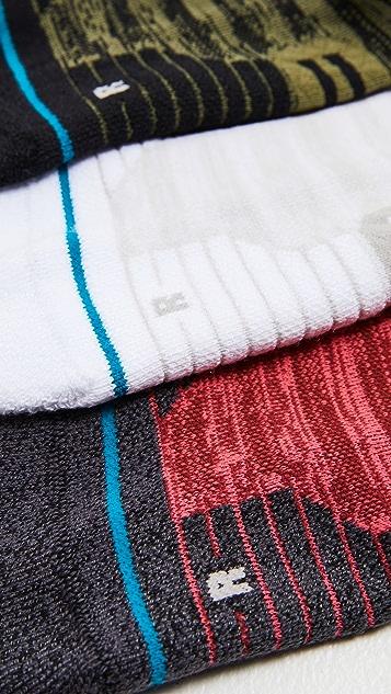 STANCE Melange Tab Socks 3 Pack