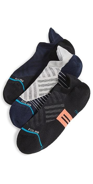 STANCE Break 3 Pack Athletic Sneaker Socks