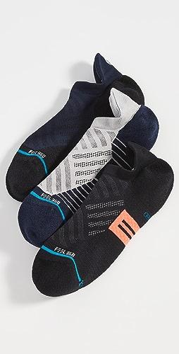 STANCE - Break 3 Pack Athletic Sneaker Socks