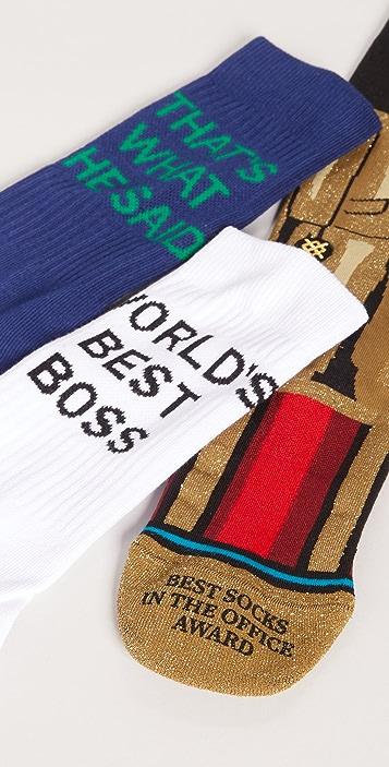 STANCE The Office Socks Box Set