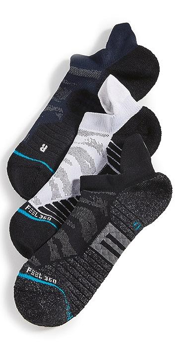 STANCE Camo Mesh 3 Pack Athletic Sneaker Socks