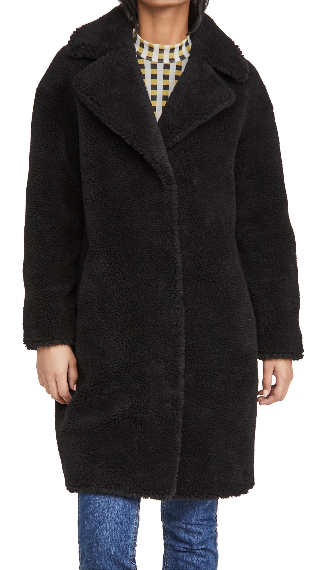 Stand Studio Furs CAMILLE COCOON COAT