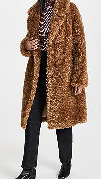 스탠드 스튜디오 코트 STAND STUDIO Anika Coat,Camel