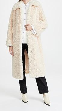스탠드 스튜디오 코트 STAND STUDIO Nino Coat,Off White