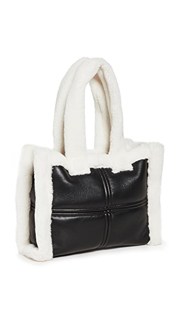 STAND STUDIO Liz Faux Quilted Bag