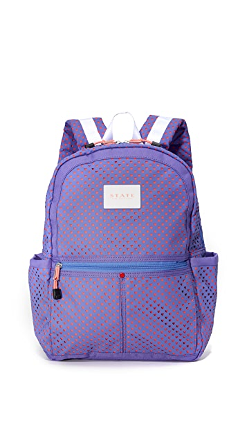 STATE Kane Perferated Hearts Backpack