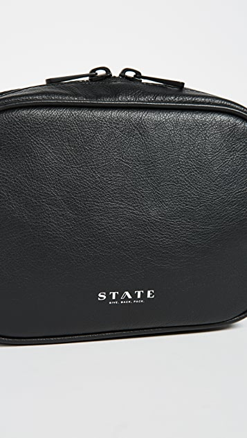 STATE Parkville Leather Crosby Belt Bag