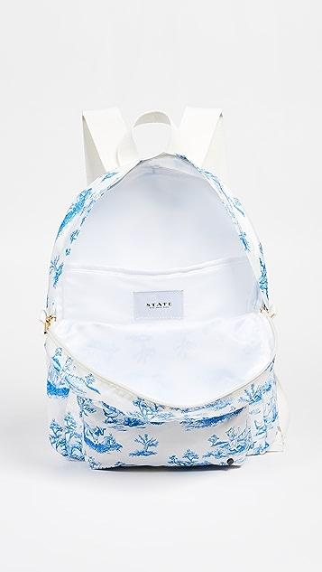 STATE Feminist Toile Mini Lorimer Backpack