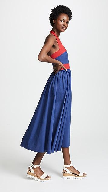 STAUD Waikiki Dress