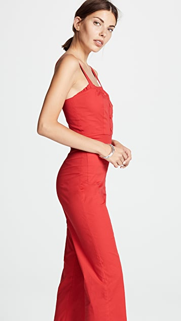 STAUD Sofia Jumpsuit